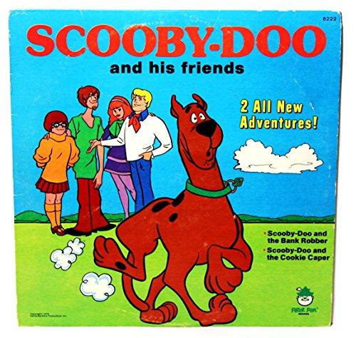 Scooby-Doo & his Friends (Scooby Doo Vinyl Record)