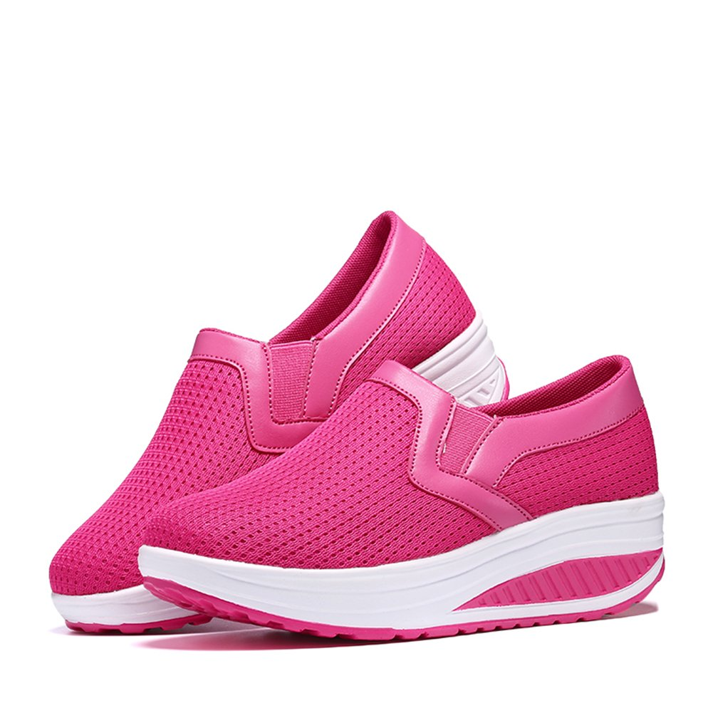 SHAKE Womens Athletic Walking Shoes Breathable Mesh Sneakers Lightweight Running Shoes