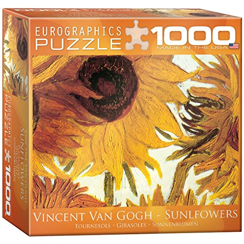 Sunflowers by Van Gogh Puzzle, 1000-Piece
