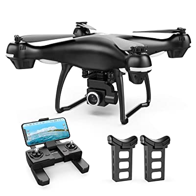Holy Stone HS100 2K GPS Drone Set with 2 Batteries: Camera & Photo