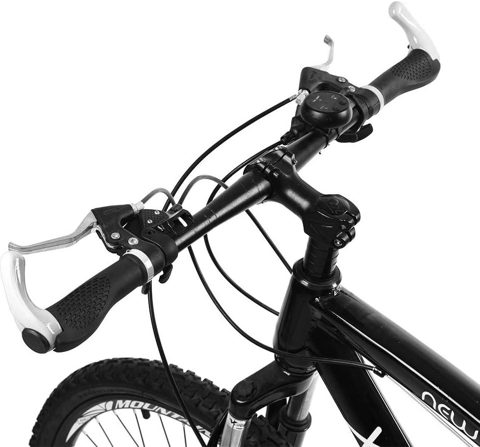 Dioche Apretones de Manillar de Bicicleta, Antideslizante, Carretera ergonómica, Bicicleta de montaña, Manillar de Bicicleta, empuñaduras de Goma, Ciclismo, con Seguro(Blanco): Amazon.es: Deportes y aire libre