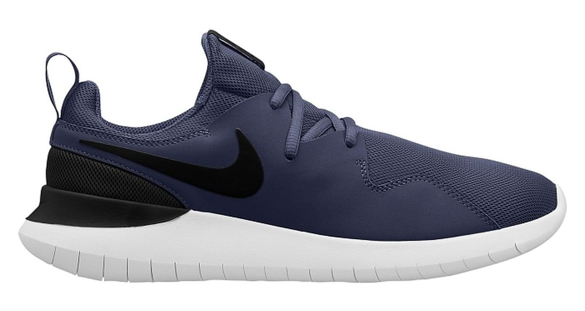 NIKE Men's Tessen, Midnight Navy/Black-White B072N8WRDX 13 D(M) US|Midnight Navy/Black-white