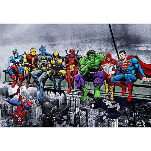 The Avengers DIY 5D Kit de pintura de diamantes por número ...