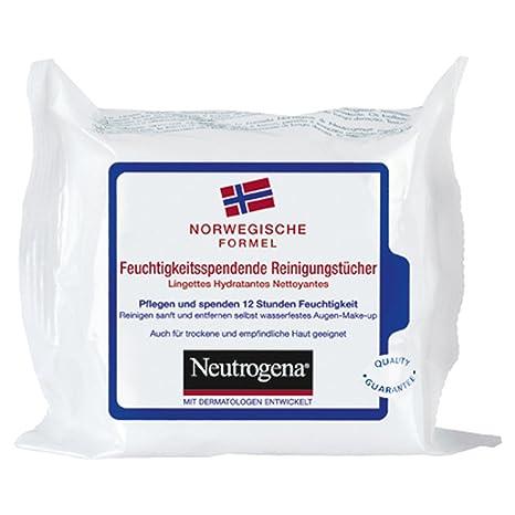 Neutrogena Fórmula Noruega Hidratante limpieza toallitas 25