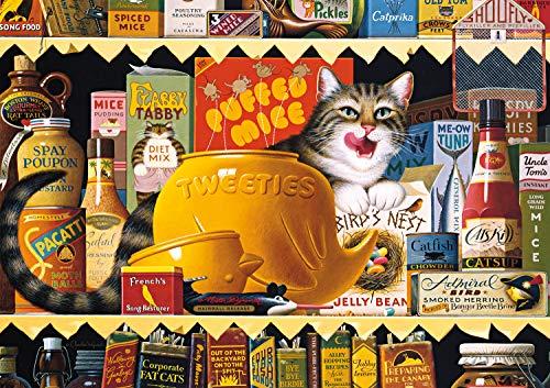 Buffalo Games - Charles Wysocki - Ethel The Gourmet - 300 Large Piece Jigsaw Puzzle
