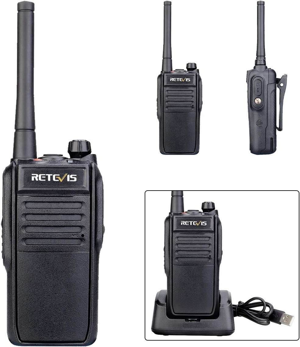 Retevis RT78 Bluetooth Walkie Talkie 5200mAh IP67 Waterproof Real Time Positioning Handheld High Power Dual Frequency Two Way Radio Black,1 Pack