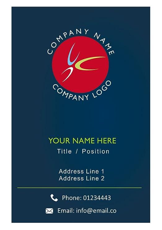 Kundenspezifisches Logo Visitenkarte Personalisierte