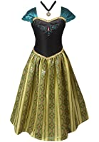 American Vogue Adult Women Frozen Anna Elsa Coronation Dress Costume & Princess Snow White Costume