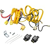 amazon com rampage jeep 5089927 halogen conversion headlight kit putco 230004hw premium automotive lighting h4 100w heavy duty wiring harness and relay
