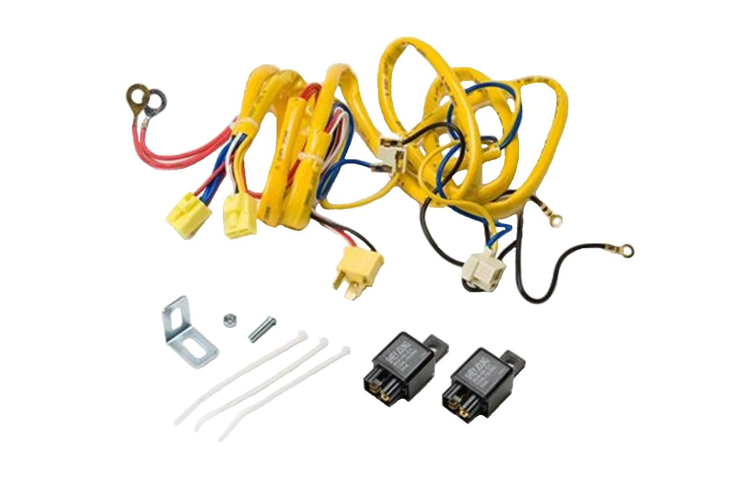 61lg%2BE3BKTL._SL1500_ amazon com putco 230004hw premium automotive lighting h4 100w h4 wiring harness jeep at eliteediting.co