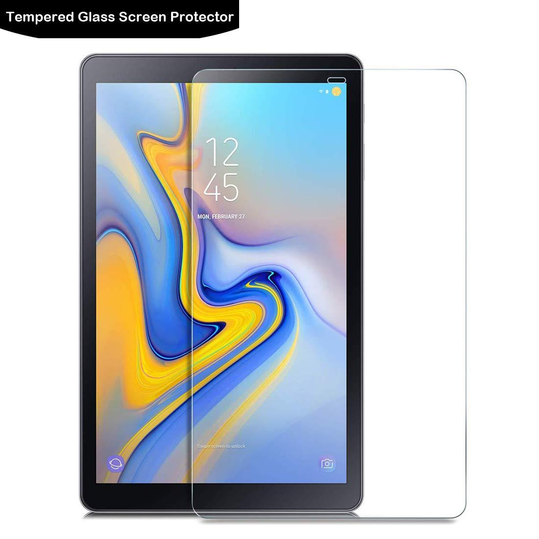LOKEKE 2.5D ラウンドエッジ 強化ガラス スクリーンプロテクター サムスン Galaxy Tab A 10.1 (2019) SM-T510/ T-515用 本物のガラス製   B07QS2MTS9