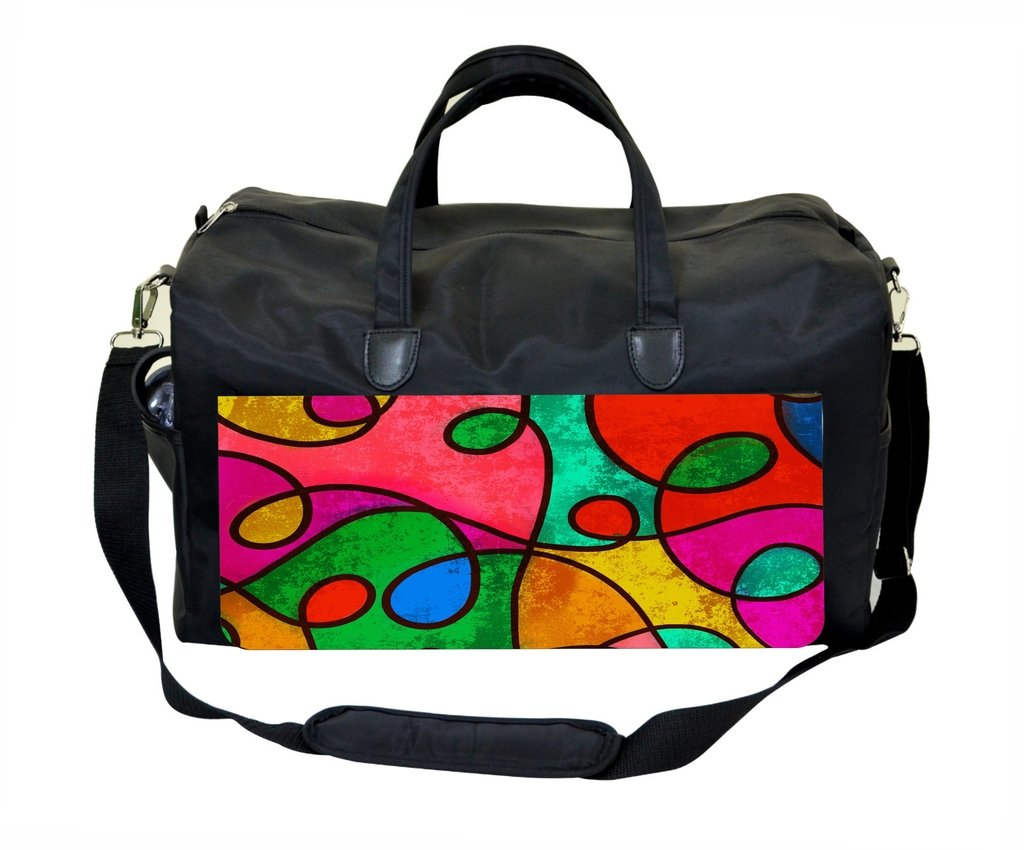 Stained Glass Swirls Therapist Bag