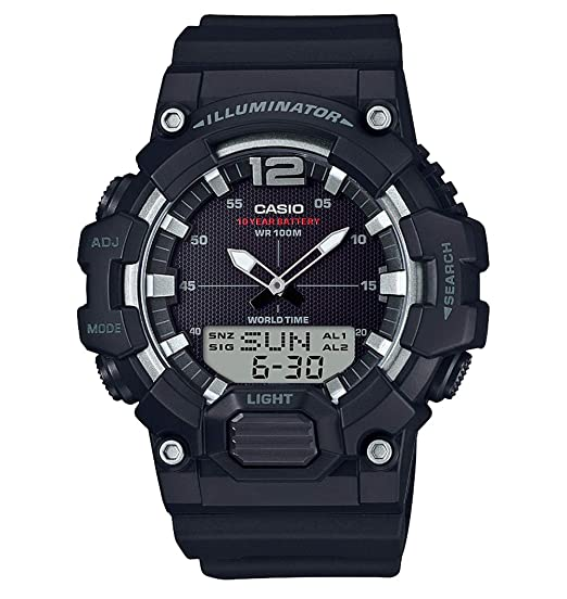 Casio Reloj Digital para Hombre de Cuarzo con Correa en Resina HDC-700-1AVEF: Amazon.es: Relojes