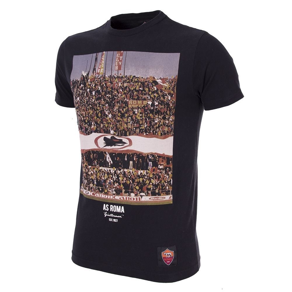Copa AS Roma Tifosi T-Shirt - schwarz
