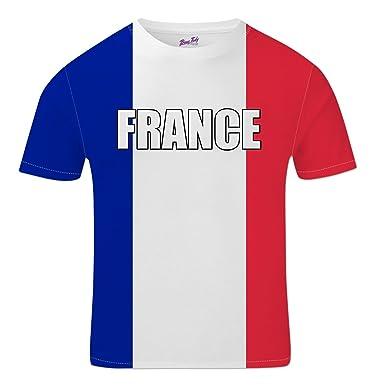 Bang Tidy Clothing France Football Shirts for Men 2018 French Team Flag T  Shirt Fans Gift  Amazon.co.uk  Clothing 813fa5866
