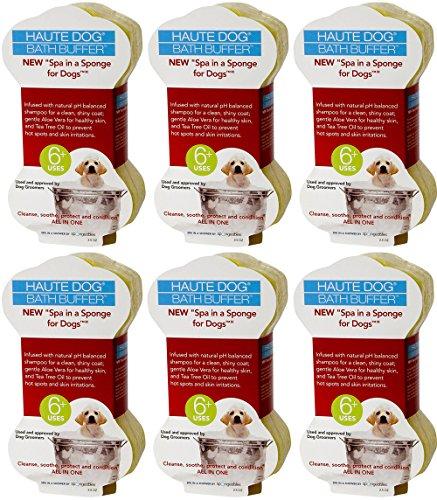 Spongeables Spa-In-a-Sponge for Dogs, 2.5oz (6 Sponges)