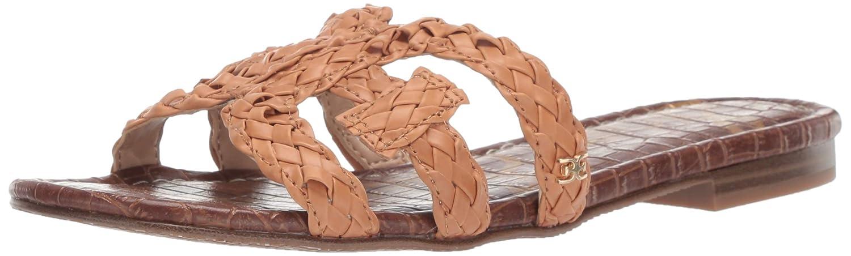Natural Buff Sam Edelman Womens Beckie Slide Sandal