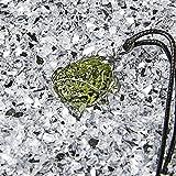 slvrbck Moldavite Crystal Necklace Real Moldivite
