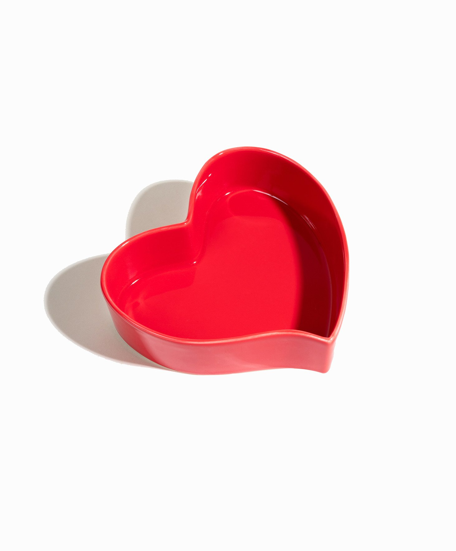 The Original Ceramic Heart Bowl - Self-Love Heart-Shaped Bowl by Breakfast Criminals. Unique Asymmetric Design. Breakfast Bowl That Can Be Used For Smoothie Bowls and More. Aka @heartbowl