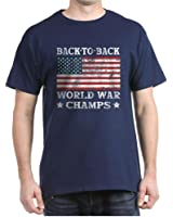 CafePress - Back To Back World War Champs T-Shirt - 100% Cotton T-Shirt