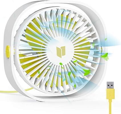 MINI Ventilatore da tavolo piccola super silenziose PERSONAL AIR COOLER ALIMENTAZIONE USB Ventilatore Portatile Tavolo