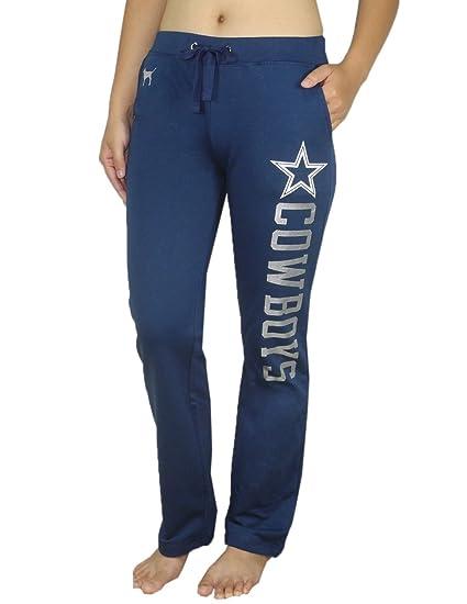 Victoria s Secret Womens Pink Dallas Cowboys Pajama Pants L Dark Blue 899ef0030