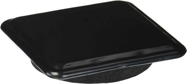 Shepherd Hardware 9335 3-Inch Reusable, Slide Glide Furniture Mover Pads, 4-Pack, Black