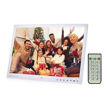 Digital Picture Frame, Andoer 13 inch LED Digital Photo Frame 1080P HD Resolution Desktop Display