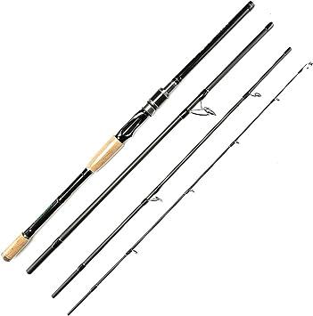 sokoleder – baitcast portátil de pescar de 7-Feet Medio Pesado ...
