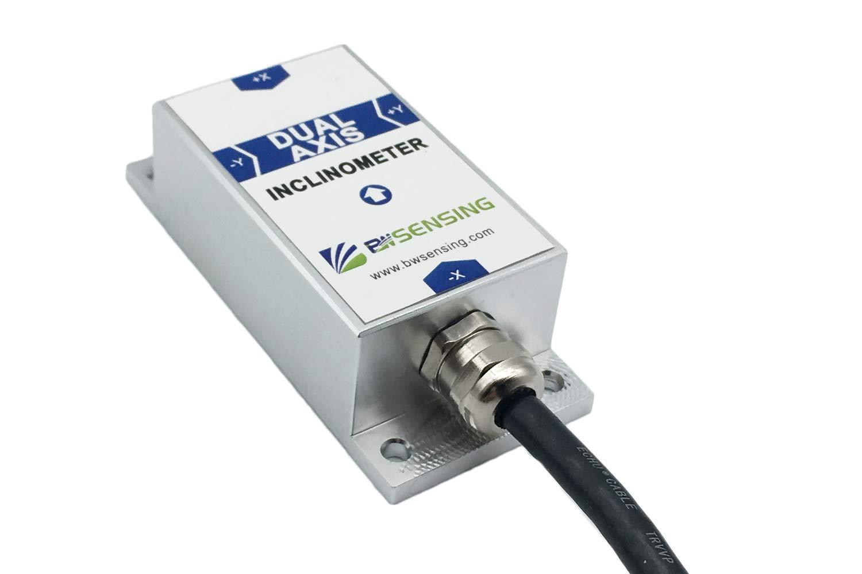 BEWIS Dual Axis Inclinometer Tilt Angle Sensor BWM428 with Accuracy 0.05 Degree and 4-20mA,0-20mA,0-24mA Output