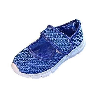 1129d5caa86e7b GongzhuMM Sneakers Fille Garçon 26-33 Été Chaussures de Sport Fille Garçon  Espadrilles Confortable