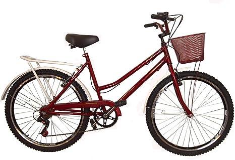 Bicicleta aro 26 retrô classic new bike 6 marchas