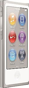 Apple iPod Nano 16 GB (7th Generation) Newest Model (Silver)(Renewed)