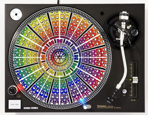 Speed Color DJ Turntable Slipmat