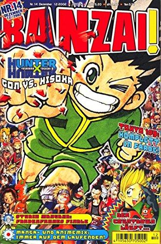Banzai! Nr. 14 Taschenbuch – Dezember 2002 Carlsen 3551757445 Manga; Magazine Belletristik / Comic