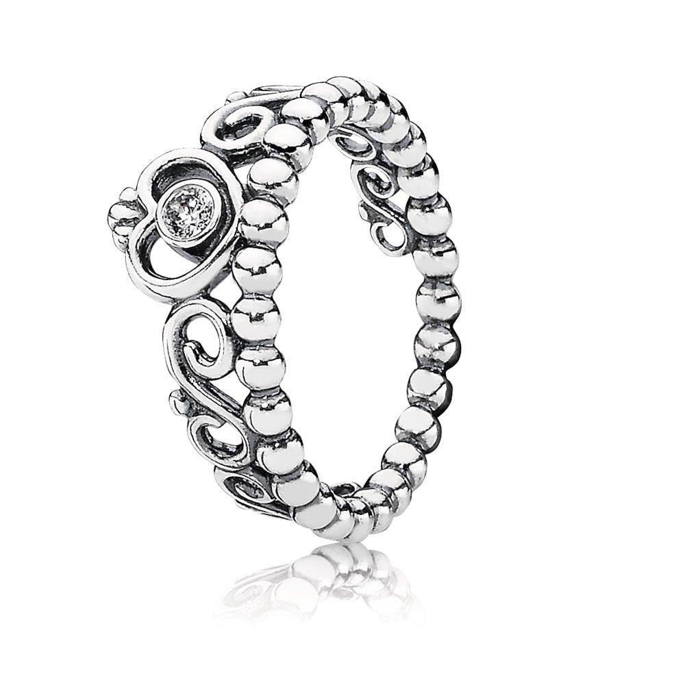 Pandora 190880cz My Princess Ring Size 8.5