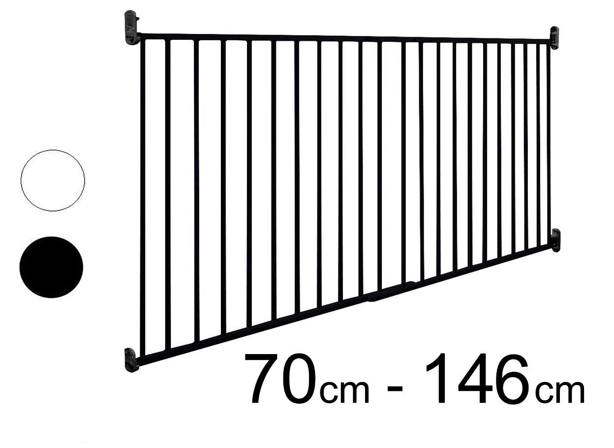 ASTORIA - XXL Barrera seguridad para puertas/escalera | 70-140 cm van Hoogen
