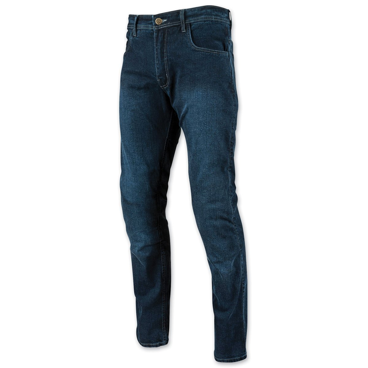 38X34 Speed and Strength Mens Critical Mass Armored Dark Blue Jeans