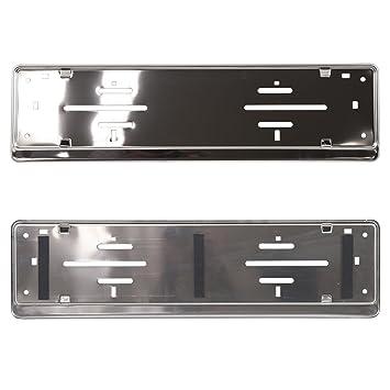 Acero inoxidable placa de matrícula soporte – PREMIUM producto