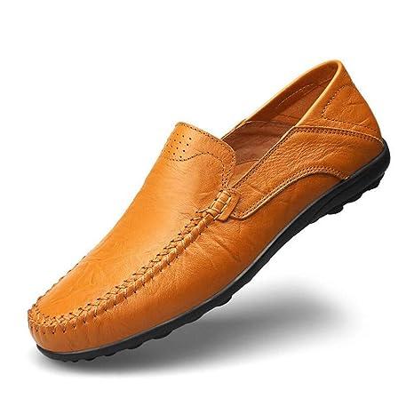 Hy Zapatos Formales de los Hombres, Primavera de Cuero/otoño Mocasines y Slip-