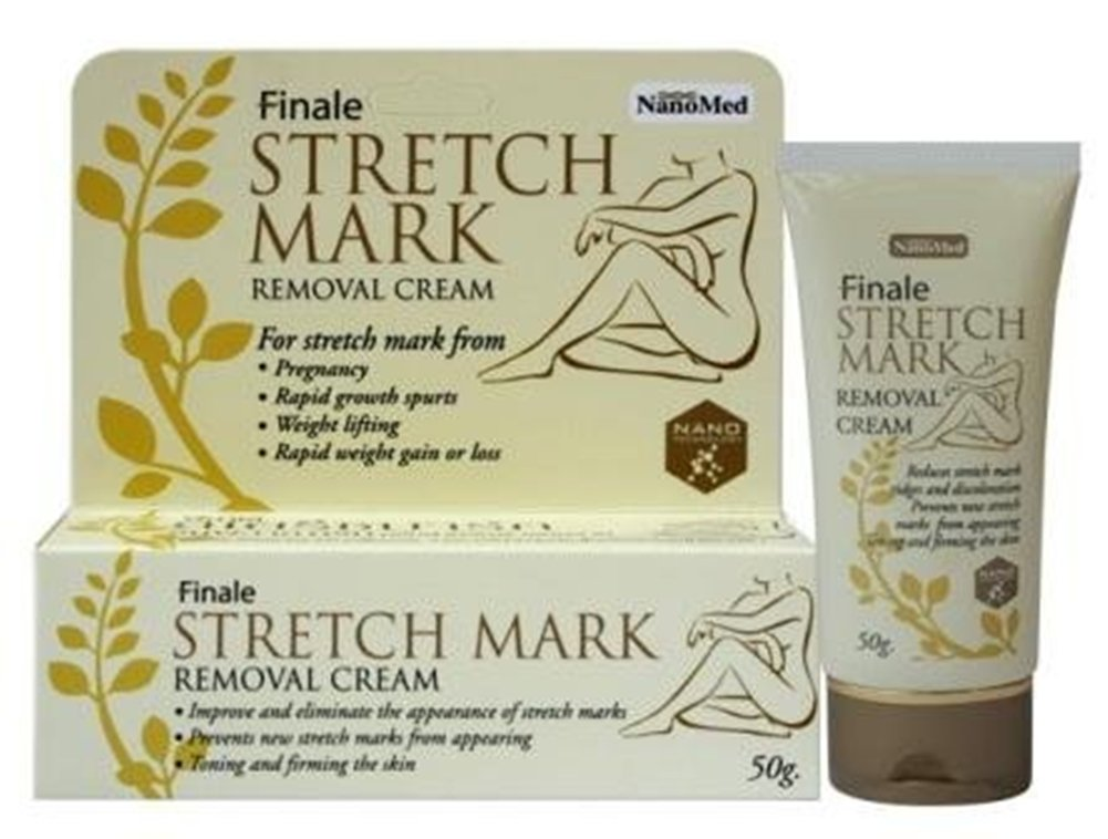 Amazon Finale Stretch Mark Removal Cream 50g Reduces Ridges And Discoloration Maternity Skin Care Products Beauty