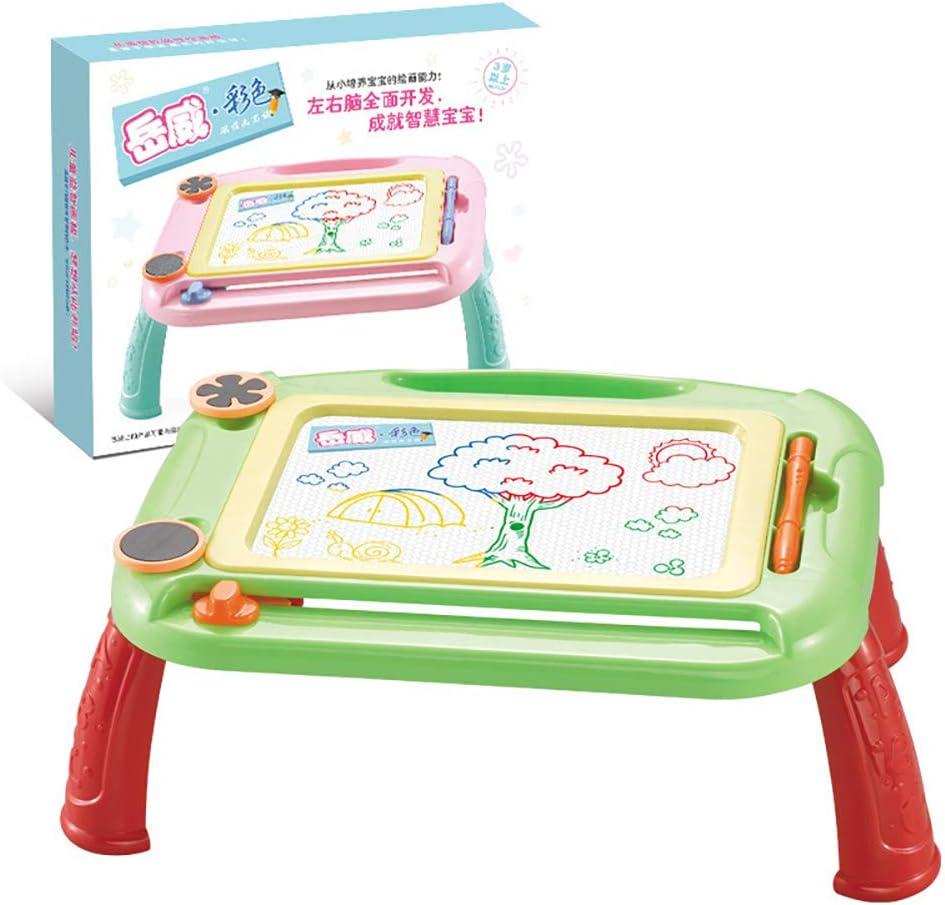 LQKYWNA Tavolo da Disegno Magnetico con 2 Francobolli E 1pc Penna Mela Verde Tavolo da Scrittura per Bambini con Graffiti Educativi Prescolare Colorato Imposta Giocattoli per La Vernice