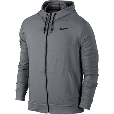 37da5eff Image Unavailable. Image not available for. Color: Nike Men's Dri-FIT  Fleece Full-Zip Training Hoodie ...