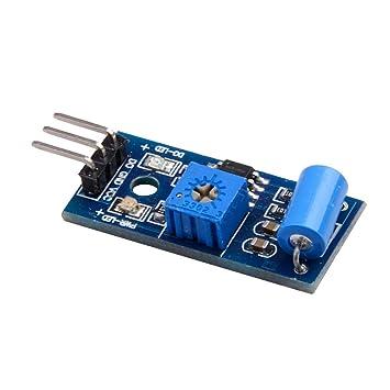 WINGONEER SW-420 Módulo Sensor de Movimiento para Arduino EK125