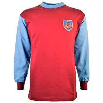 ee603517d Toffs Burnley 1960s Retro Football Shirt  Amazon.co.uk  Sports ...