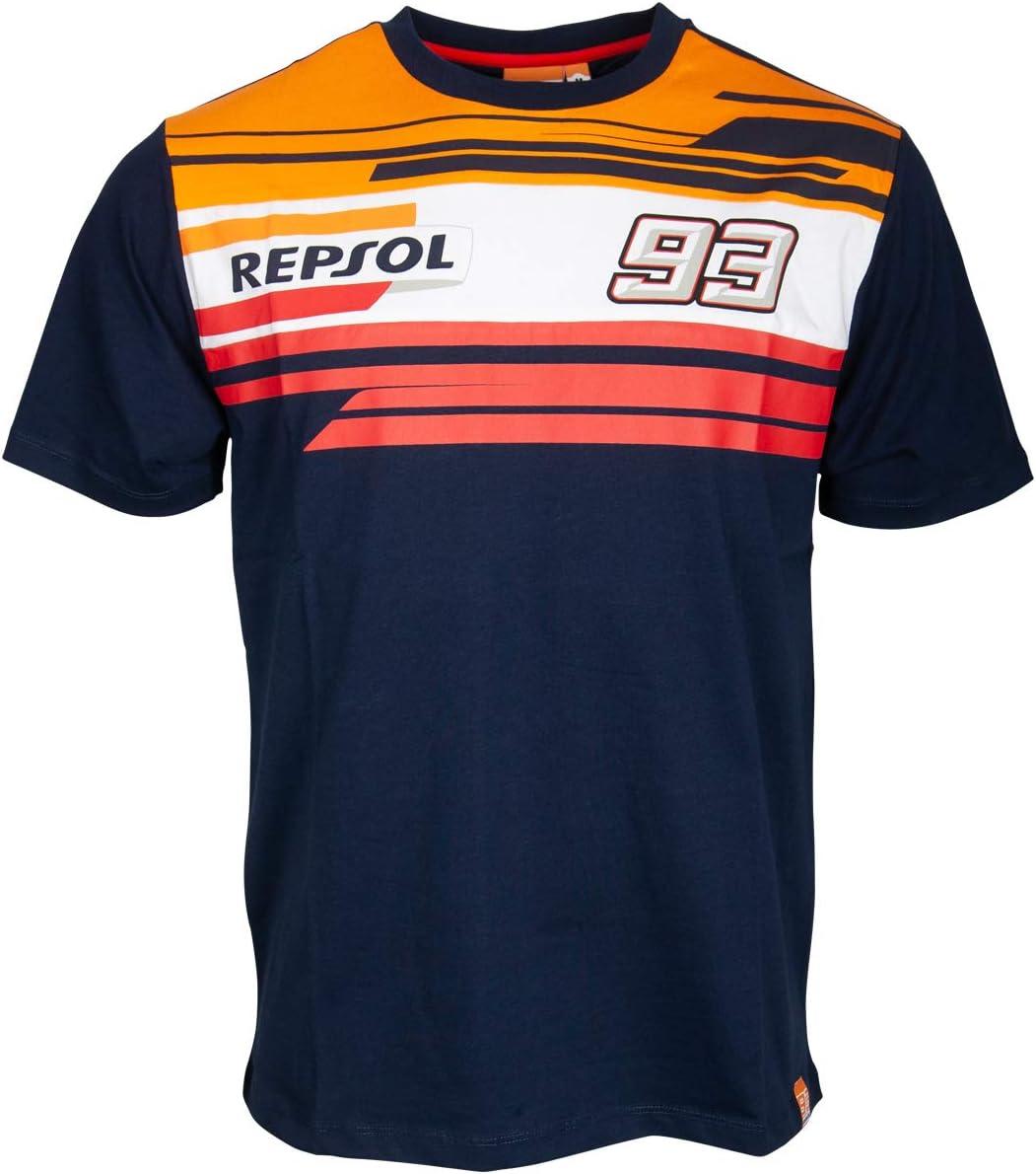 HONDA Repsol Marc Marquez 93 Moto GP Panel Azul Camiseta Oficial ...