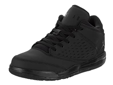 Jordan Nike Kids Flight Origin 4 BP Black/Black/Black Basketball Shoe 1.5  Kids