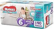 Huggies All Around - Pañales, Unisex, Etapa 6, 40 Piezas