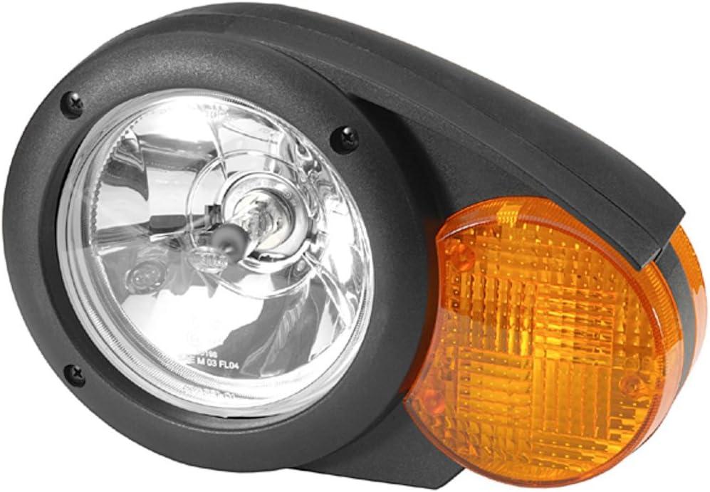 HELLA 1E3 996 160-011 Halogen Hauptscheinwerfer Ohne Kurvenlicht mit Gl/ühlampen Links