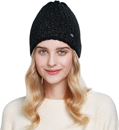 knitted hat sequins hat sequins beanie sequins Black knitted angora hat with sequins stylish beanie angora spring angora sequins